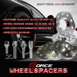 WheelSpacers kit for ABARTH...